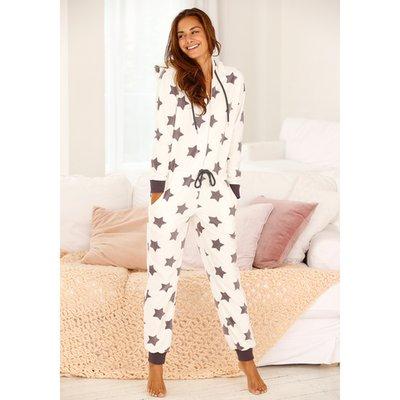 prix incroyable meilleurs prix vente en gros Pyjama Combinaison De Nuit à Capuche Imprimé étoile Maille Polaire ...