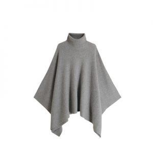 Pull coupe cape uni en laine et cachemire Fame – Galeries Lafayette