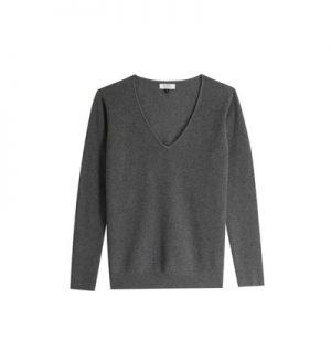 Pull en laine et cachemire uni Seo – Galeries Lafayette