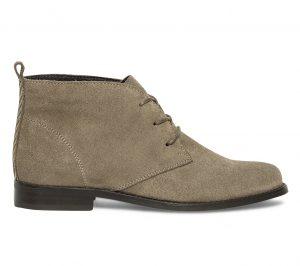 Boots taupe à lacet  Eram