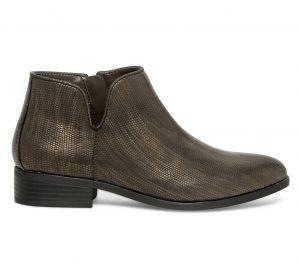 Low boots cut out bronze  Eram