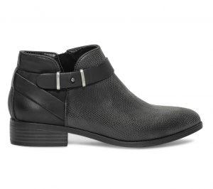 Low boots cut out noir  Eram