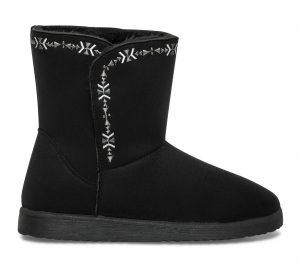 Boots fourré noir  Eram