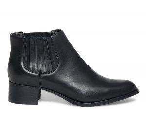 Chelsea boots cuir noir  Eram