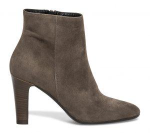 Boots croûte de cuir gris  Eram