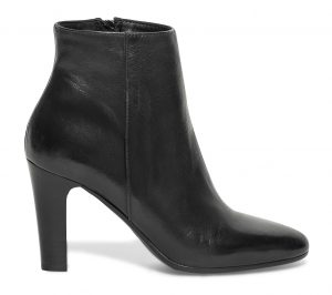 Boots cuir noir  Eram