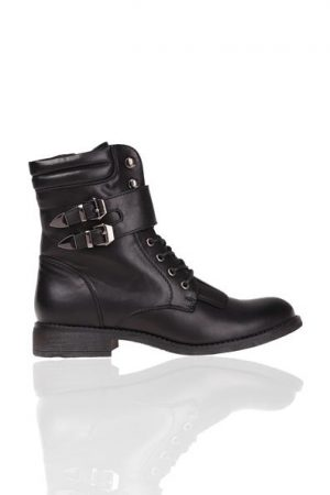 Boots montantes Oôra Noir Synthetique (polyurethane) – Femme Taille 37 – Cache Cache ...