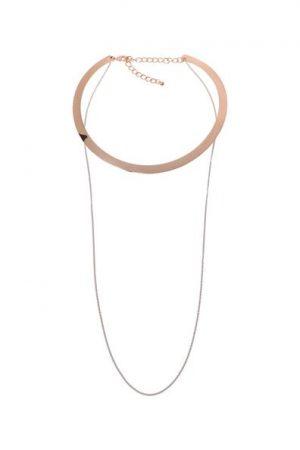 Collier 2 rangs métal Oôra Multicouleur Metal – Femme Taille T.U – Cache Cache Multi ...