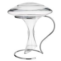 Décanteur à vin en verre + support en métal Maisons du monde