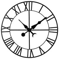 fabulous horloge dcorative en mtal noir d cm alembert maisons du monde with maison du monde horloge. Black Bedroom Furniture Sets. Home Design Ideas