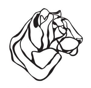 Trophée en bois Tiger – Hu2