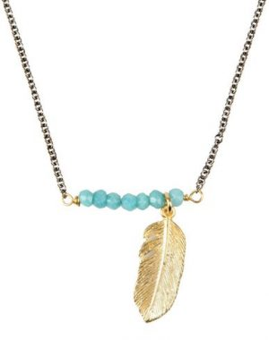 FIRST PEOPLE FIRST Collier femme