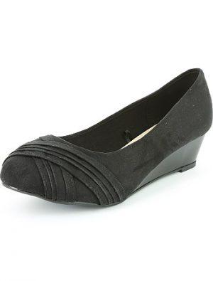 Ballerines compensées pieds larges KIABI