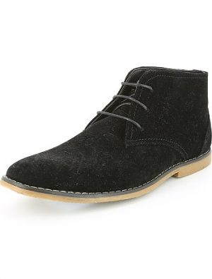 Chaussures montantes en nubuck KIABI