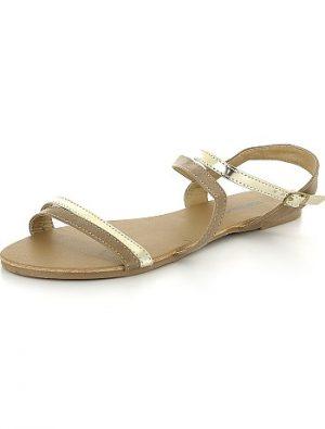 Sandales plates à brides croisées KIABI