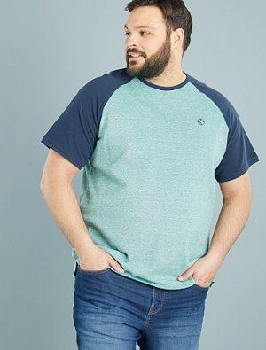 Tee-shirt piqué de coton à manches KIABI