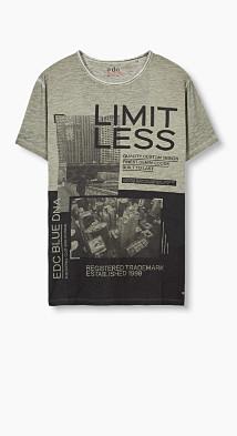 T-shirt imprimé photo en jersey  Esprit
