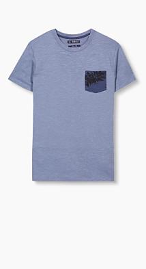 T-shirt en jersey de coton  Esprit