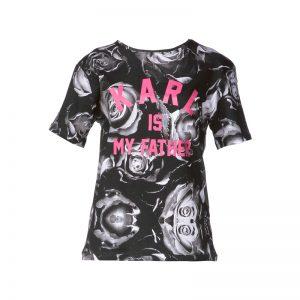 T-shirt coton printé Farl – Eleven Paris