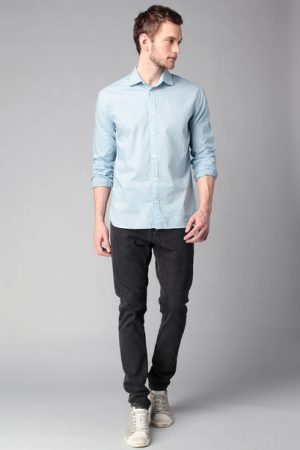 Chemise manches longues imprimée carré Dominic – Pepe Jeans