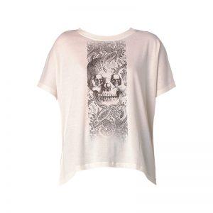 T-shirt blanc oversize imprimé skulls Hanna – Diesel