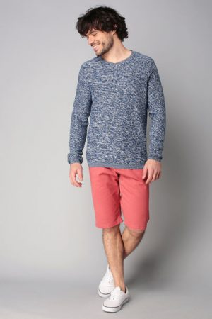 Pull bleu chiné – Tom Tailor