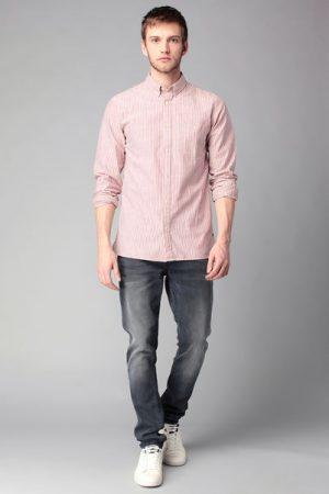 Chemise rayée manches longues Andrew – Jack & Jones