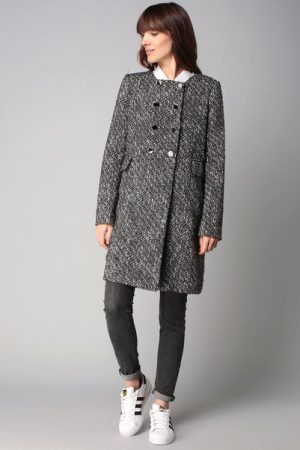 Manteau gris noeud – Molly Bracken