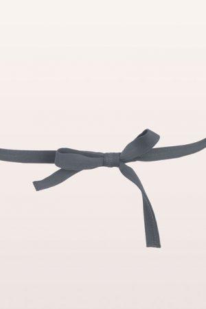 Maillot de bain triangle à nouer blanc/taupe/gris Monoprix Femme