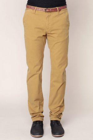 Pantalon chino ceinturé moutard Stuart – Scotch & soda
