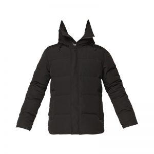 Parka matelassée à capuche noire Macmillan – Canada Goose