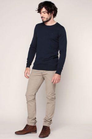 Pull fin coton marine – Tom Tailor