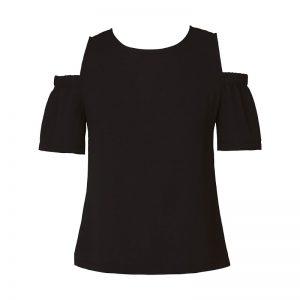 Top noir épaules dénudées Pauline – Sinéquanone