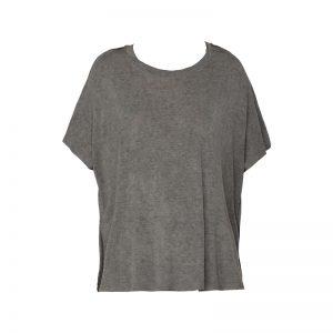 T-shirt gris chiné manches chauve-souris Hanna – Diesel