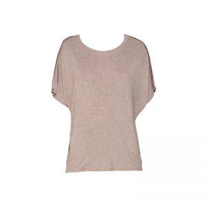 T-shirt taupe manches chauve-souris Hanna – Diesel