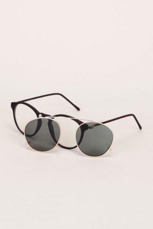 Lunettes de soleil monture noir mat/doré Mia - Iyü Design fvnUfPsGr