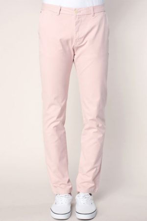 Pantalon regular slim sunset dust avec ceinture – Scotch & soda