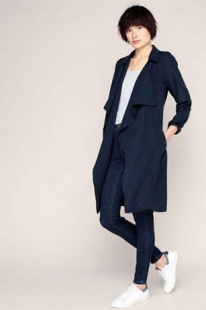 Trench-coat ceinturé marine Adelina Serena – Vero Moda