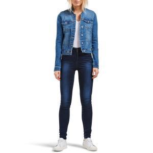 Veste en jean,courte, manches longues. ONLY.