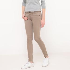Pantalon slim, taille normale, effet push-up, long. ONLY.