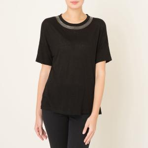 T-shirt col bijoux. THE KOOPLES.