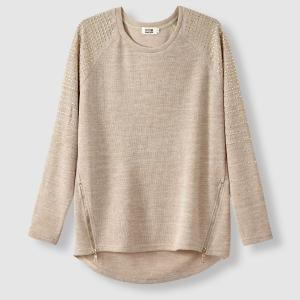 Pull col rond paillettes. MOLLY BRACKEN.