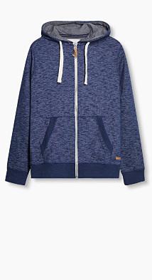 Sweater à capuche 100 % coton  Esprit