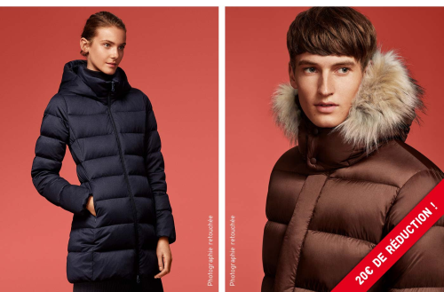 UNIQLO promotion doudounes
