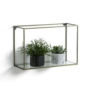 Étagère horizontale métal/verre, Oshota AM.PM