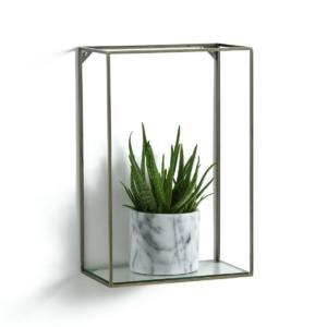 Étagère verticale métal/verre, Oshota AM.PM