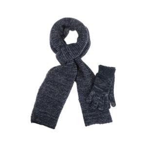 Set écharpe et gants en maille brillante – BREAL