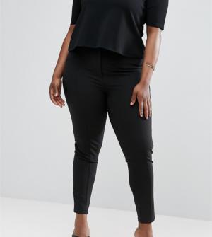 ASOS CURVE – Pantalon ajusté coupe ultime – Noir