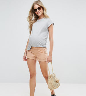 ASOS Maternity – Short chino – Rose