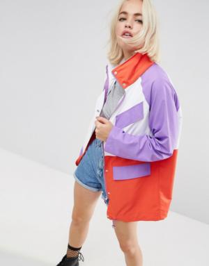 ASOS – Ultimate – Anorak color block – Multi
